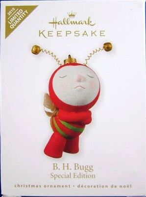 """2010 Hallmark """"B. H. Bugg"""" Special Edition Limited Qty Special Ed. Signed MIB"""