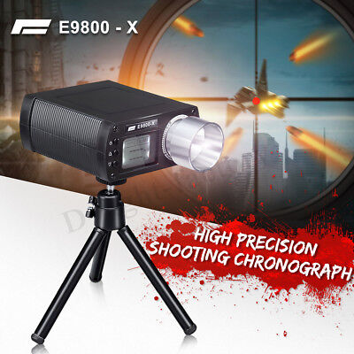 E9800-X Airsoft BB Shooting High Speed Tester Accurate Chronograph Tool w/Tripod