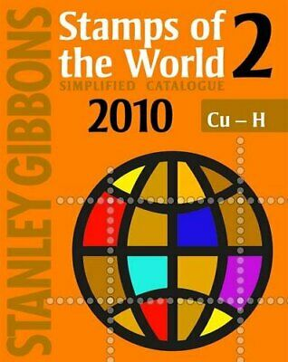 Stanley Gibbons Stamps of the World 2010: v. 2 Paperback Book The Cheap Fast