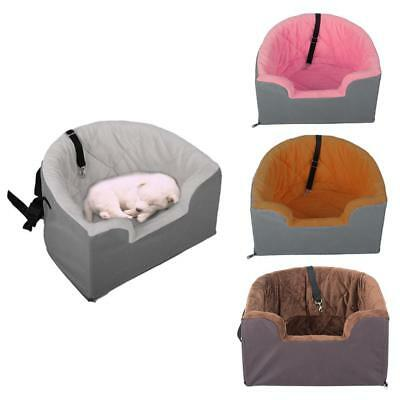 Multi-Purpose Portable Dog Puppy Cat Car Seat Carrier Safety Buckles Pet Basket