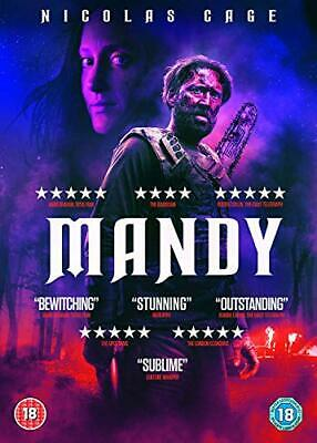 Mandy (DVD) [2018] - DVD  VLVG The Cheap Fast Free Post