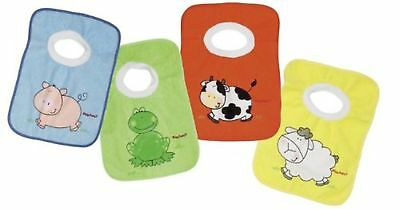 Playshoes 507142, Slip-on Bibs, Pack of 4 Small Multicolor