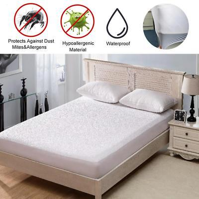 Waterproof Mattress Cover Bed Cover Protector For Twin/Full/Queen/King Bed