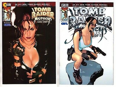 Tomb Raider Journeys #1 Adam Hughes Variant Cover #2 2001 Top Cow VF/NM 9.0
