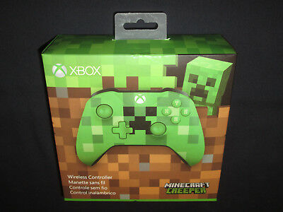 XBOX Minecraft Creeper Limited Edition Wireless Controller - BRAND NEW + SEALED!