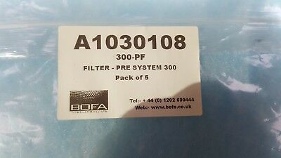 Bofa A1030108 300-Pf Filter Pre System 300 Pack Of 5 (Br6.6)