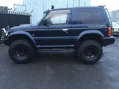 Mitsubishi Pajero 2.8 Turbo Swb Winter Pack