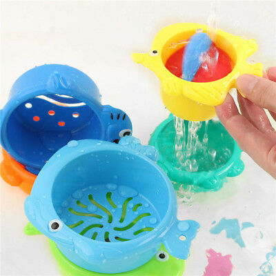 Bath Baby Toys Kids Animal Float Toy Water Children Animals Swimming Play 6A