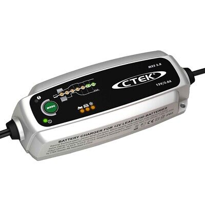 CTEK MXS 3.8 12v 7 Stage Smart Battery Charger & Maintainer 5 Year Warranty