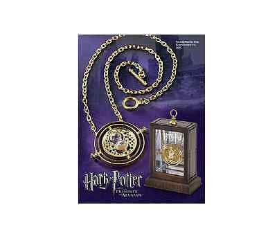 Time Turner Necklace Hermione Granger Rotating Spins Hourglass Harry Potter