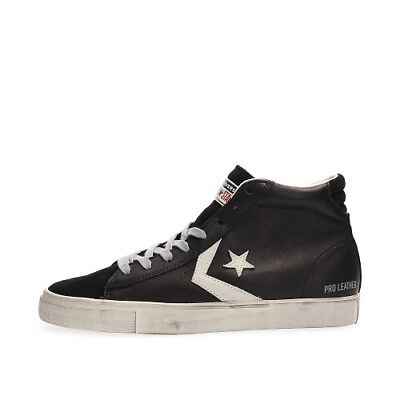 converse pro leather uomo nero