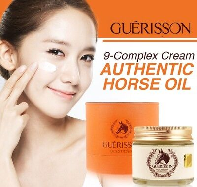 GUERISSON 9 Complex Horse Oil Cream Whitening/Anti-wrinkle/Scar Cream70g Upgrade