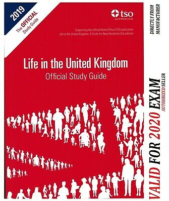 Life in the UK United Kingdom Official Study Guide 2019 Study*Std