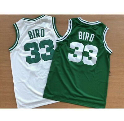 58306a4067c NBA Men s Throwback Swingman Larry Bird  33 Boston Celtics Basketball Jersey
