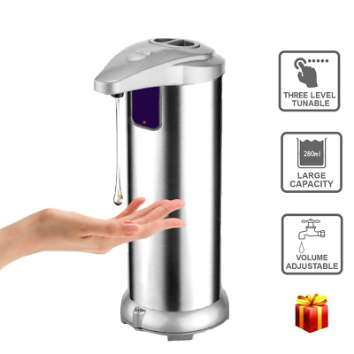 Motion Sensor Dish Liquid Soap Dispenser Bathroom Thanksgiving Day Festival Gift