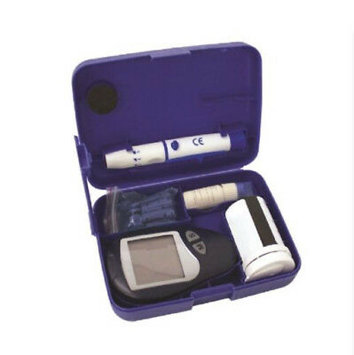 Blood Glucose Monitor - Test Strips, Lancing Device, Carry Case included