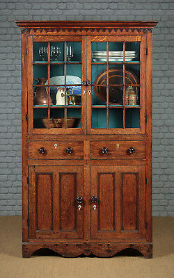 Antique Welsh Oak Kitchen Cupboard c.1820.