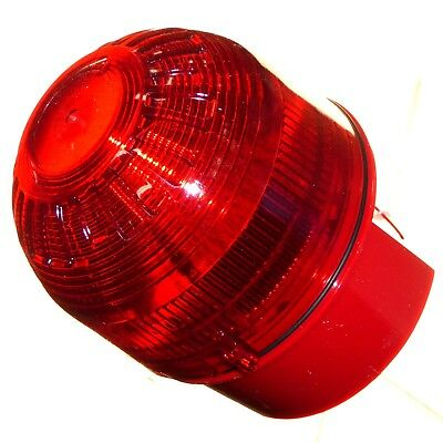 Apollo 55000-009 Beacon with Red Lens Visual Warning Fire Alarm Signal IP65 New
