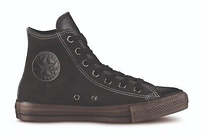 Converse All Star Hi Suede Leather Black