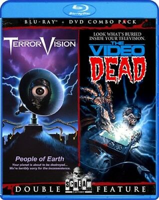 TERRORVISION + THE VIDEO DEAD New Sealed Blu-ray + DVD Double Feature