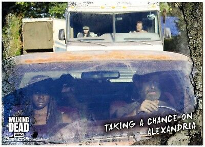 Taking A Chance #77 Walking Dead Road To Alexandria 2018 Topps Trade Card C2102