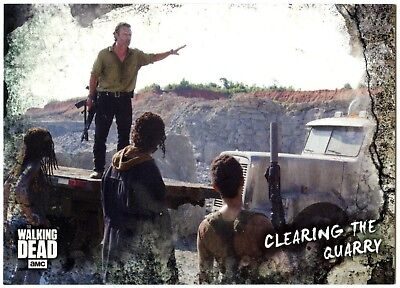 Clearing Quarry #83 Walking Dead Road To Alexandria 2018 Topps Trade Card C2102