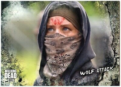 Wolf Attack #84 Walking Dead Road To Alexandria 2018 Topps Trade Card (C2102)