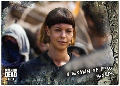 Of Few Words #97 Walking Dead Road To Alexandria 2018 Topps Trade Card (C2102)