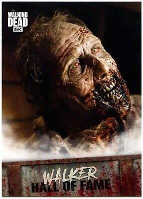Walker Hall Of Fame #W-3 Walking Dead Road To Alexandria 2018 Topps Card (C2106)