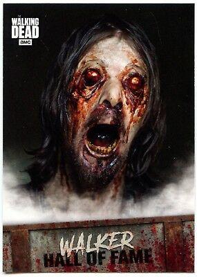 Walker Hall Of Fame #W-6 Walking Dead Road To Alexandria 2018 Topps Card (C2106)