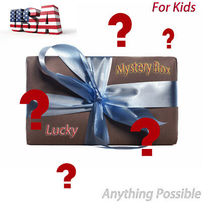 Mysteries Box! Up To $100 Value! For Kids Anything Possible Toys Electronics etc