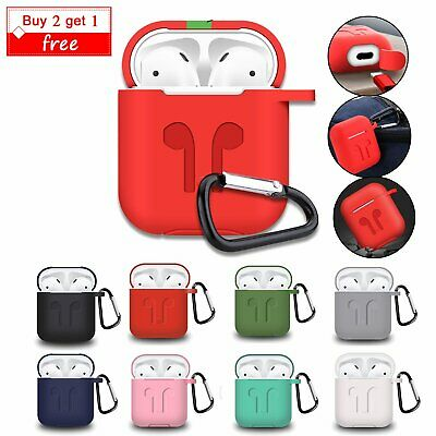 AirPod Clasp Case Soft Silicone Protective Cover Charging Skin For Apple AirPods