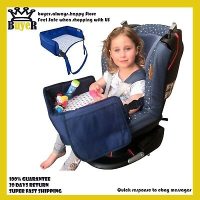 Ozziko New Toddler Car Seat Tray Travel Kids Table Snack Play Lap Desk Road Trip