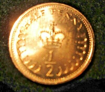 1983 1/2p Half Penny UK Coin Uncirculated BUNC Fresh from bag. Buy 2 get 3