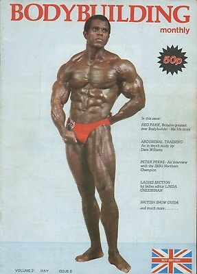 UK Bodybuilding Monthly May 1979 Serge Nubret Vol 2 No 8 Mr World Legend