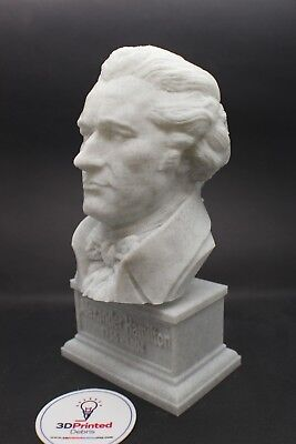 Alexander Hamilton 7 inch 3D Printed Bust Founding Father Art FREE SHIPPING