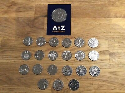 VARIOUS ALPHABET A-Z UNCIRCULATED 10p's CHOOSE YOUR LETTERS SHINY CLEAN COINS