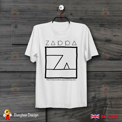 Frank Zappa Ship Arriving Too Late To Save A Drowning Witch  Unisex T Shirt B398