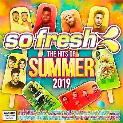 Various, So Fresh - Hits Of Summer 2019, CD