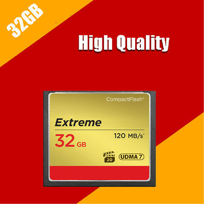32G 32GB Ultimate Compact 120MB/s Genuine Flash Memory CF Card For Camera