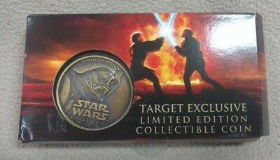 Star Wars Limited Edition Episode Iii 2005 Collectible Coin--Target Exclusive