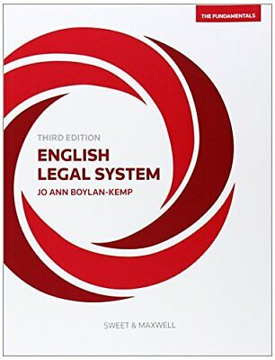 English Legal System: The Fundamentals by Jo Boylan- Kemp Book The Cheap Fast
