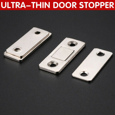 Strong Magnetic Catch Latch Ultra Thin For Door Furniture Cabinet Cupboard New