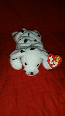 Ty beanie babies Sparky the dalmation dog free shipping