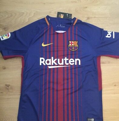 b0c5fcfd1a3 NIKE LIONEL MESSI FC Barcelona Authentic Away Jersey. -  40.00 ...