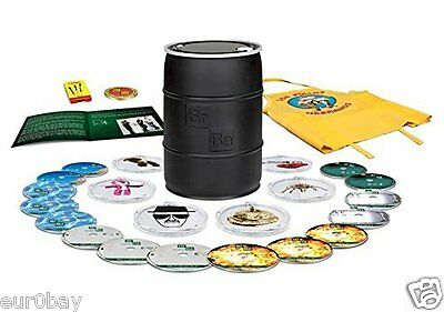 Breaking Bad The Complete Series REGION FREE! Barrel Blu-Ray - New & Sealed - BN