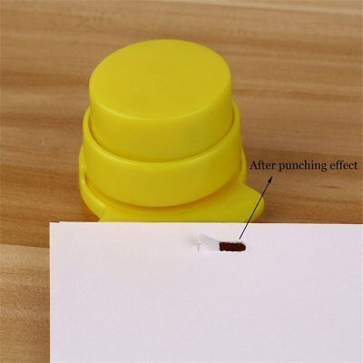 *Stapleless Staple Free Stapler Paper Binding Binder Stapless Stationery!!