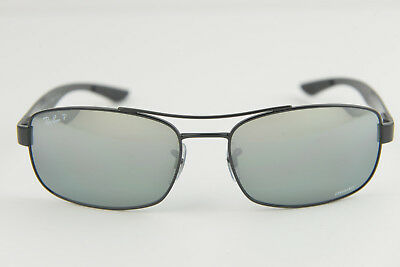 6a637527df RAY-BAN RB 8318CH 004 6O 62mm Gunmetal Frame Green Mirror Polarized ...