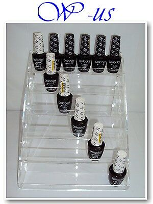 Nail Polish Table Rack Acrylic Display hold up to 36 bottles /OPI, ESSIE,CHINA