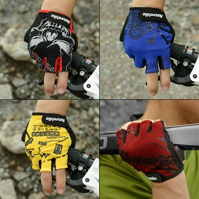 *Shockproof Sport Gloves Breathable Cycling Bike Riding Half Finger Gloves G!!